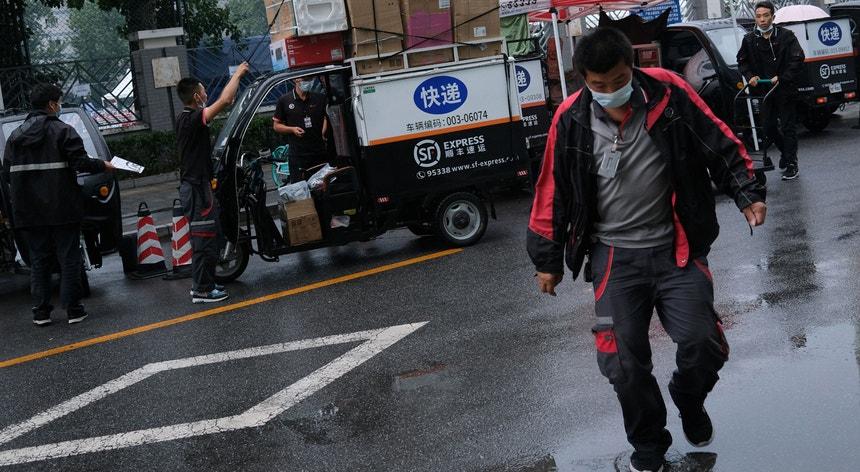Em Pequim convive-se com relativa tranquilidade com o novo coronavírus