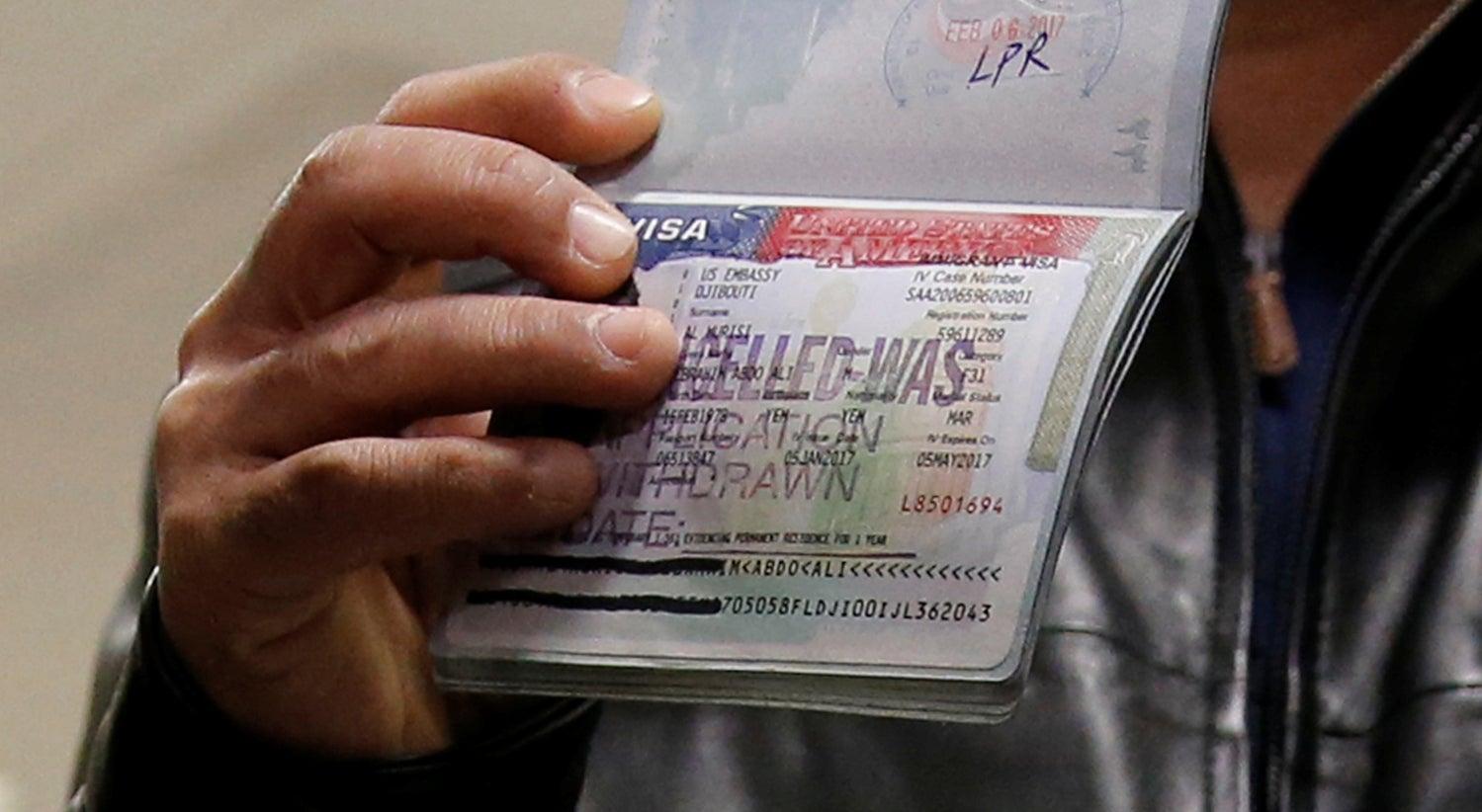 Resultado de imagem para Administração Trump estabelece novos critérios de entrada nos Estados Unidos