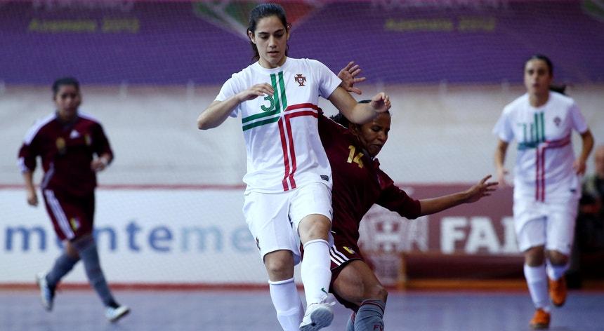 Inês Fernandes (em primeiro plano) é um dos pilares da equipa nacional
