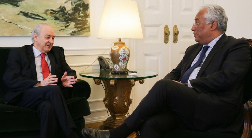 Rui Rio esteve reunido durante mais de duas horas em São Bento com António Costa