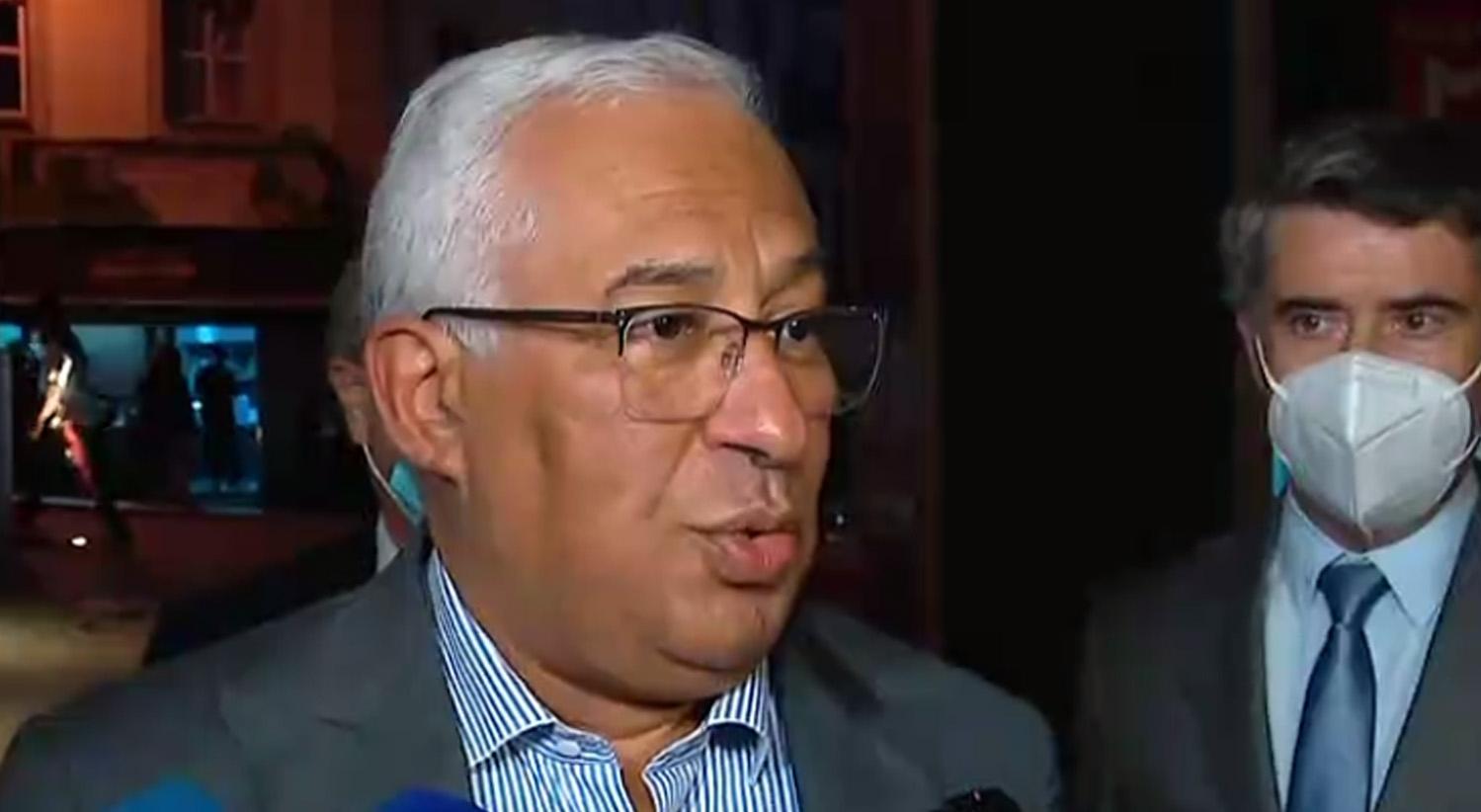 António Costa pede desculpas à CIP pelo sucedido na Concertação Social