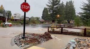 Califórnia. Uma das piores tempestades de sempre