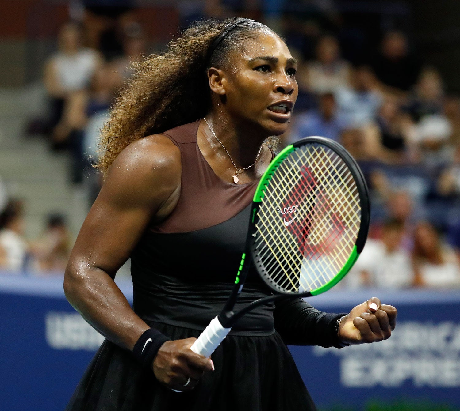 Serena Williams na meia-final do US Open