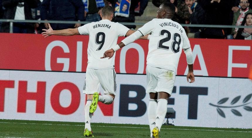 f7fb985a06534 Real Madrid vence em Girona e está nas `meias` da Taça do Rei ...