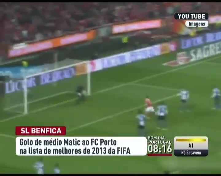 Golo de Matic candidato a melhor do ano - Desporto - RTP Notícias 2385695e0ae69