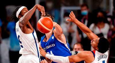 Tóquio2020: Estados Unidos `esmagam` checos e asseguram os `quartos` no basquetebol