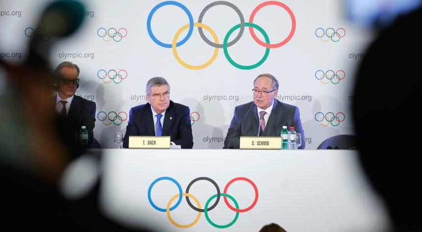 Resultado de imagem para Comité Olímpico da Rússia banido dos Jogos Olímpicos de Inverno