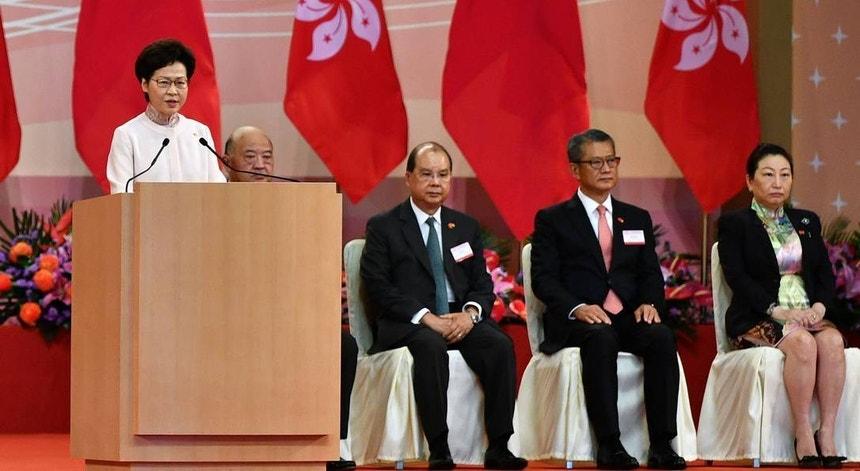 Carrie Lam destaca a importância da nova lei de segurança nacional chinesa