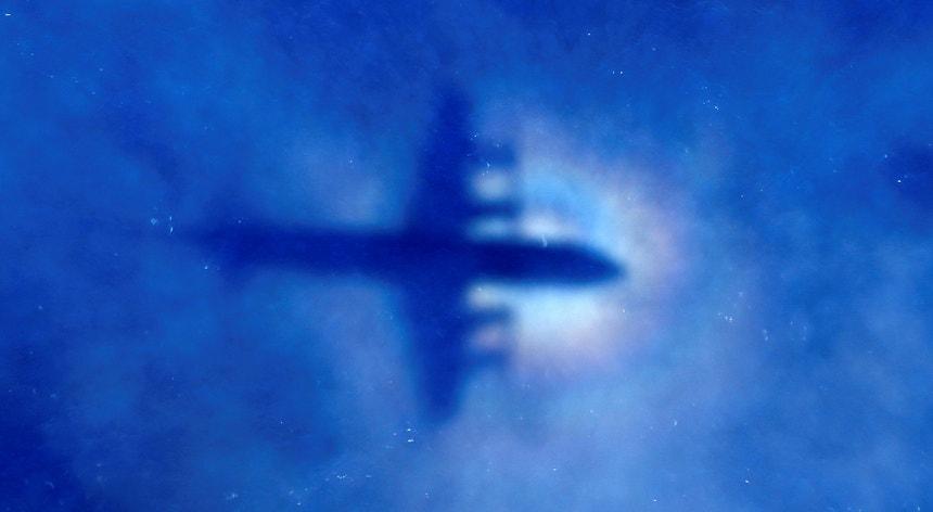 Avião que participou nas buscas do MH370