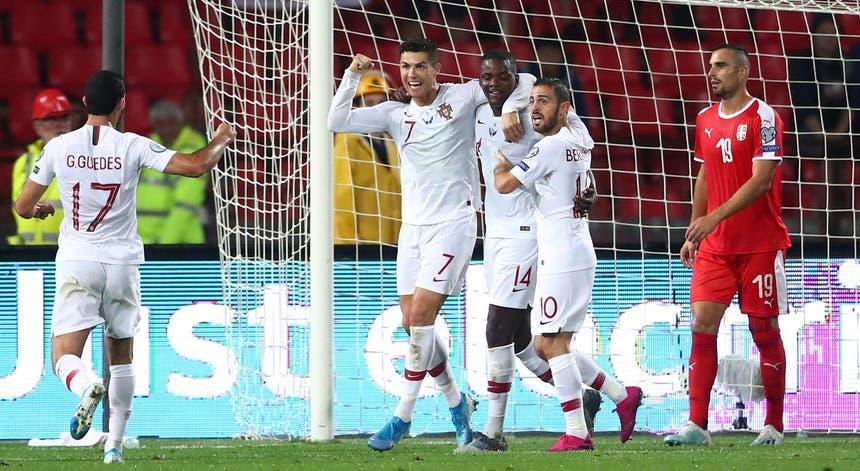 Portugal venceu a partida por 4-2