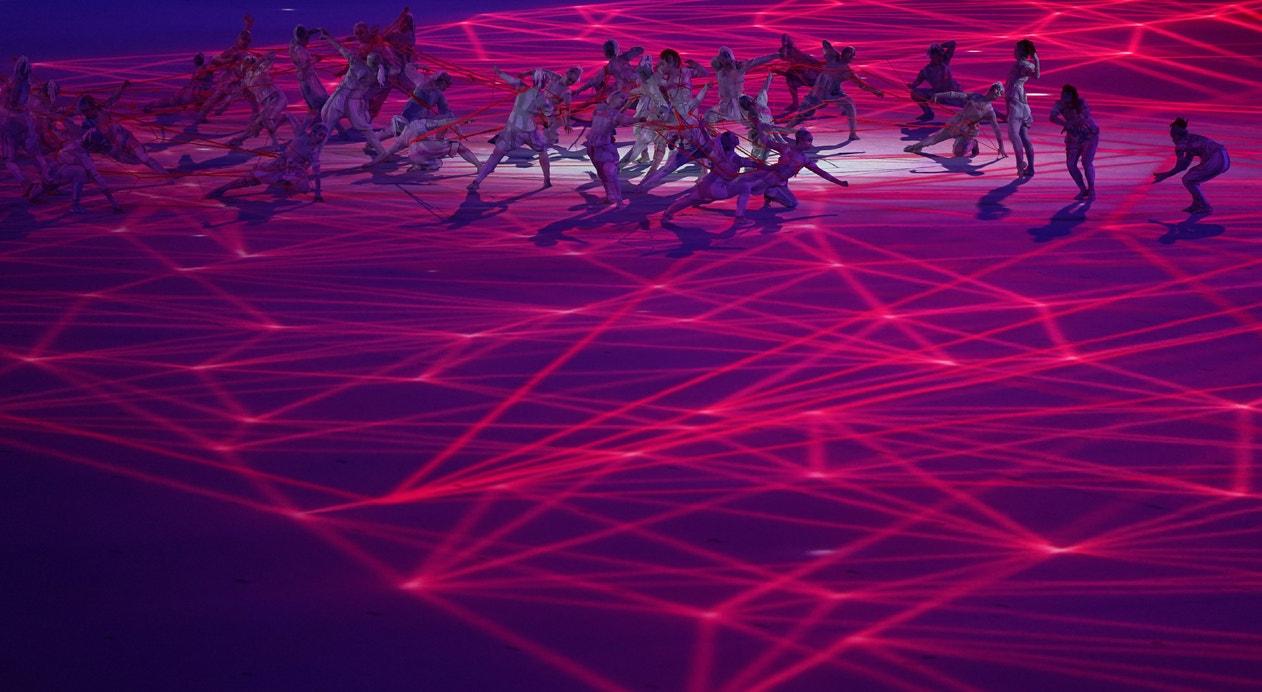 Espetáculo de abertura dos Jogos Olímpicos | KIYOSHI OTA - EPA