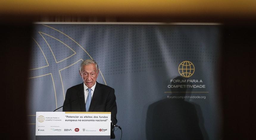 Marcelo apelou o setor privado a descobrir protagonistas políticos mais fortes