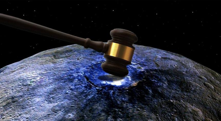 A lei terrestre estará preparada para quem quer ocupar o espaço?