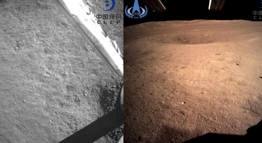 Em 2020, a China planeia ainda enviar a sonda Chang'e-5, com o objetivo final de regressar à Terra com amostras de matéria recolhida na Lua