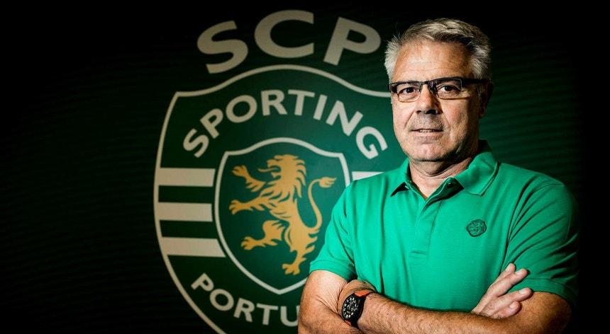 O treinador francês deixou o Sporting oito meses depois de ter chegado