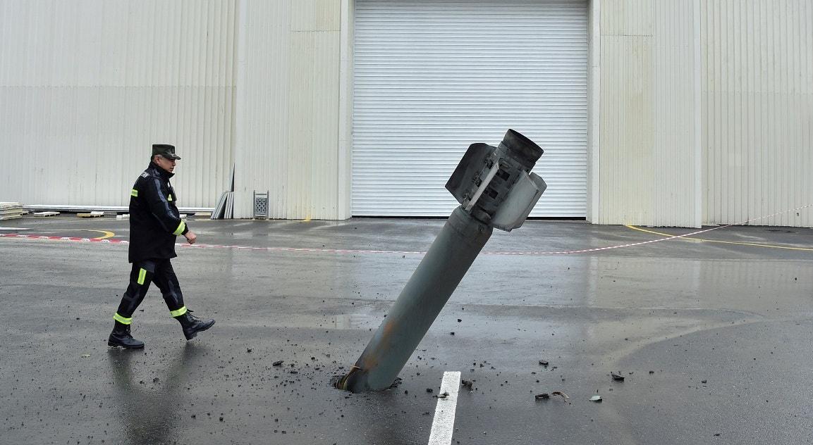 Rocket alegadamente arménio   Reuters