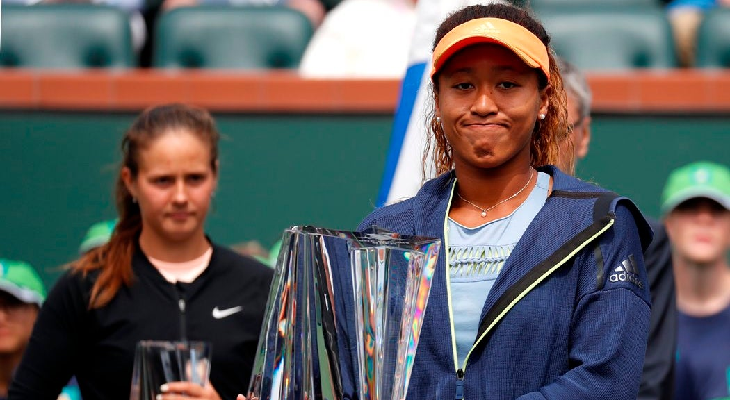 Japonesa Naomo Osaka vence final feminina de Indian Wells