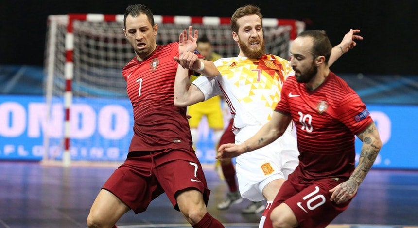 c6d3064f0e Seleção portuguesa de futsal com preparação importante na Eslovénia
