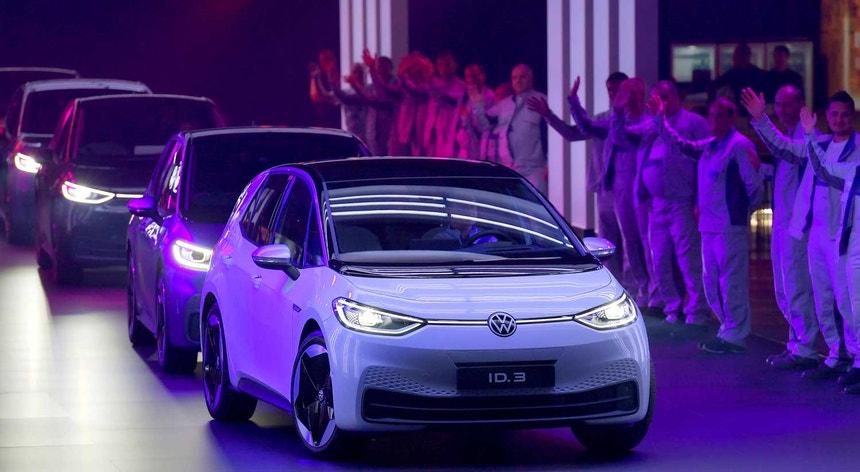 Novos carros elétricos da Volkswagen
