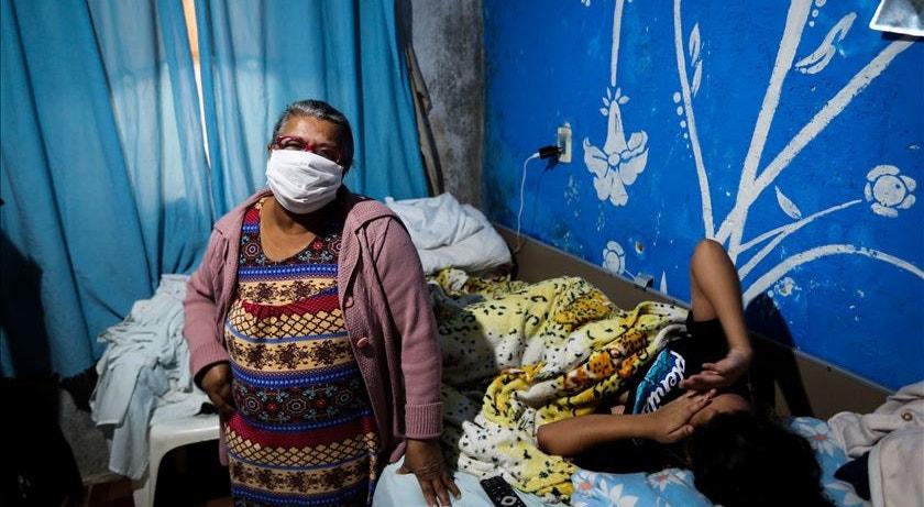 A pandemia continua a flagelar o povo brasileiro
