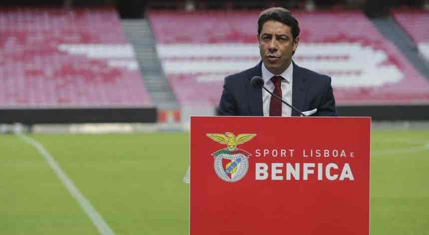 Rui Costa diz que seria cobardia furtar-se à responsabilidade de ser presidente do Benfica