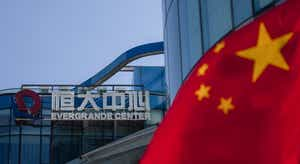 Christine Lagarde relativiza impacto em possível falência do gigante imobiliário chinês Evergrande.