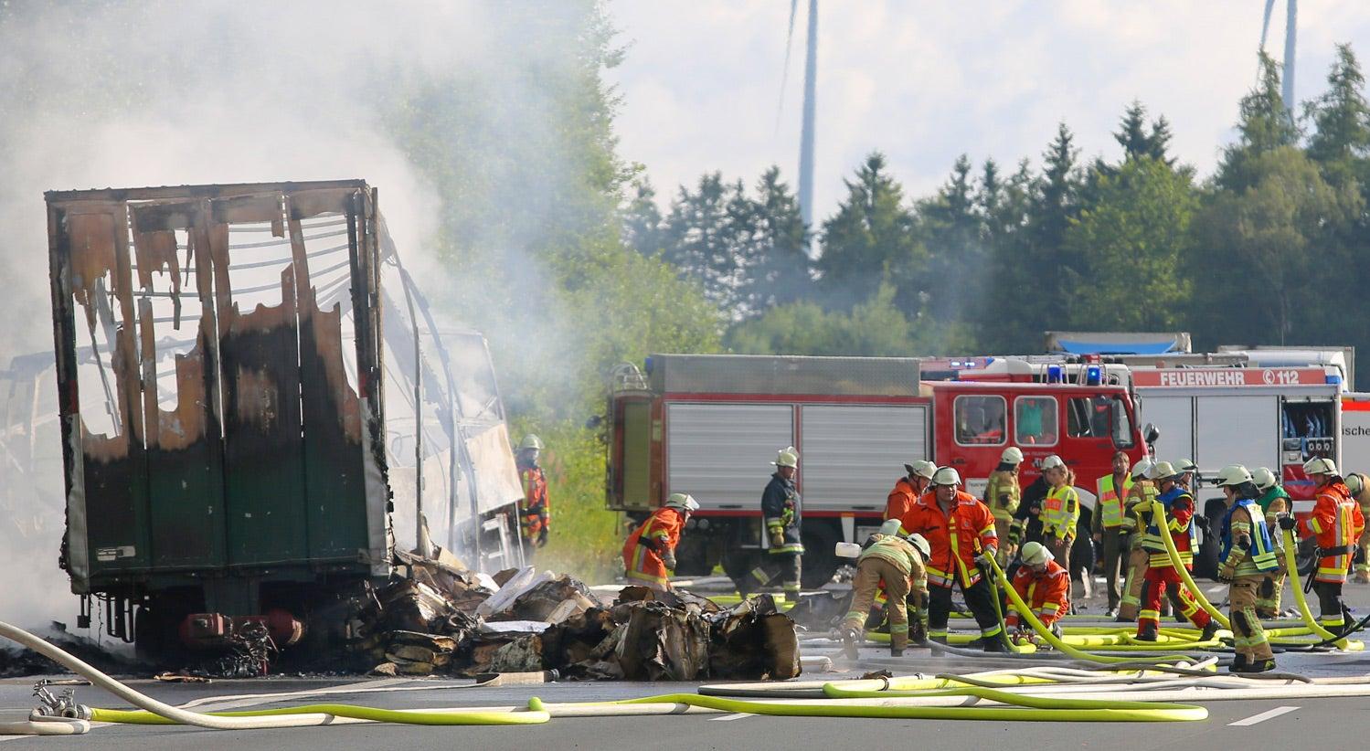 Acidente rodoviário na Alemanha provoca vários mortos