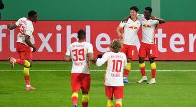 Leipzig bate Wolfsburgo e carimba passagem às meias-finais da Taça da Alemanha