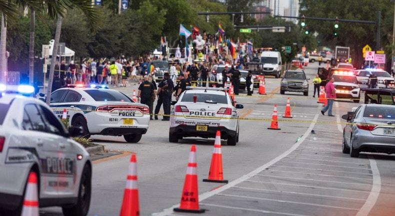 A polícia concluiu que o acidente na marcha de orgulho gay foi casual