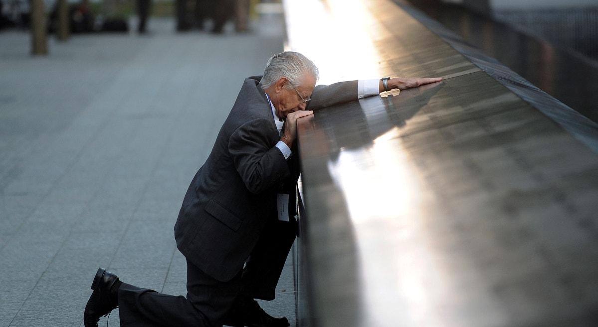 Robert Peraza perdeu o filho no 11 de setembro   Justin Lane - Reuters