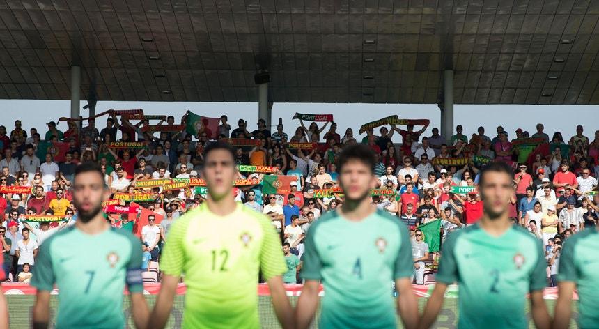 Portugal com um apoio fantástico
