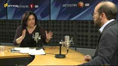 A Entrevista de Maria Flor Pedroso - Rui Tavares