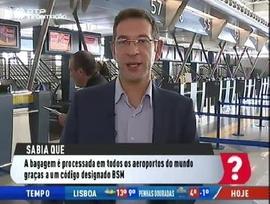 Transporte Bagagens no aeroporto