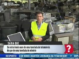 Reciclagem lixo eletrónico