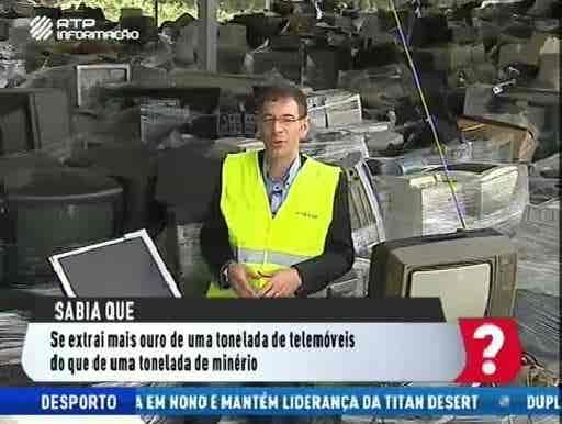 Reciclagem lixo eletrónico...