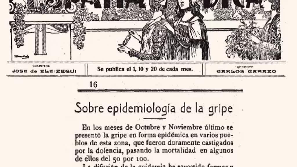 A Gripe Pneumónica, a Pandemia de 1918-1919