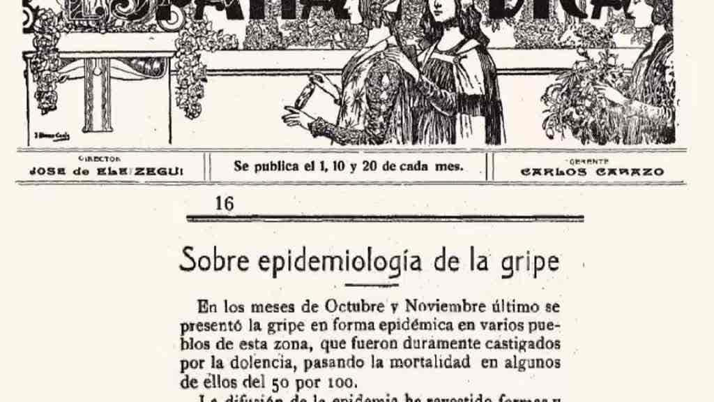 A Gripe Pneumónica, a Pandemia de 19...