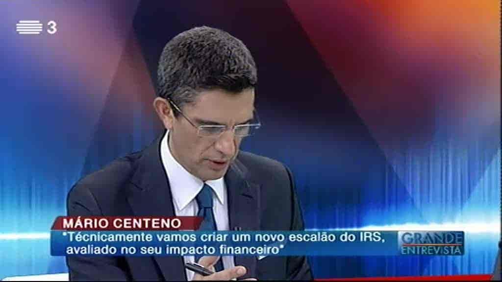 Mário Centeno...