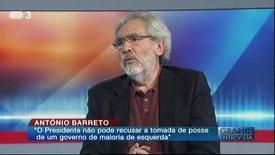 Grande Entrevista - Prof. António Barreto