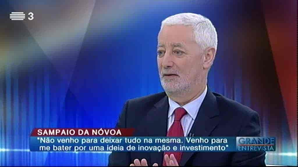 António Sampaio da Nóvoa...