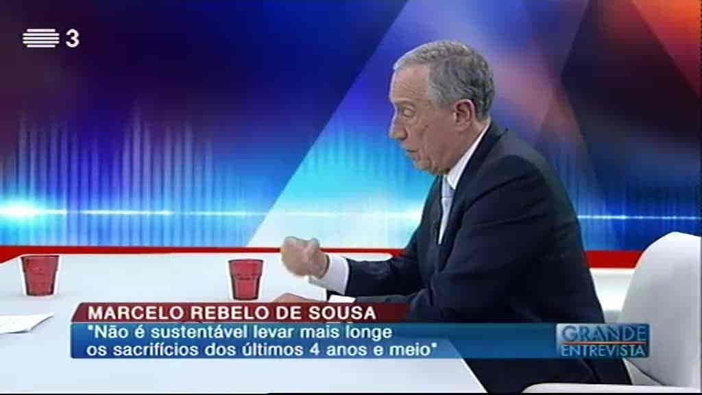 Marcelo Rebelo de Sousa...