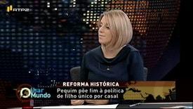 Olhar o Mundo - Ana Isabel Xavier é a convidada de António Mateus