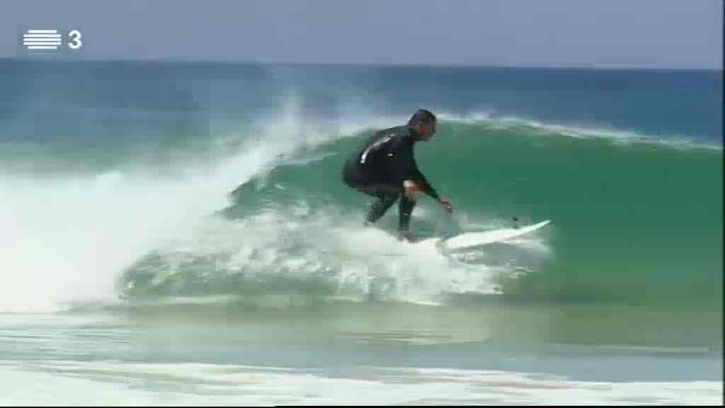 Surfando no Baleal...