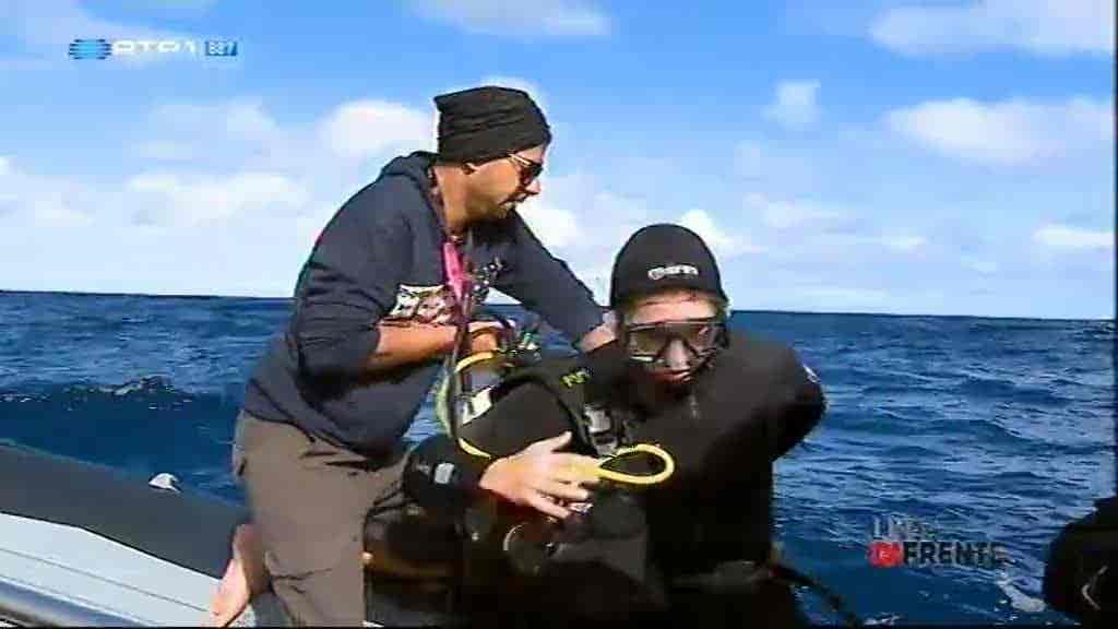 SOS na ilha de Santa Maria...