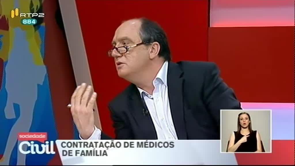 Contratação de médicos de família
