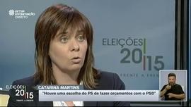 Frente a Frente: Jerónimo de Sousa/Catarina Martins