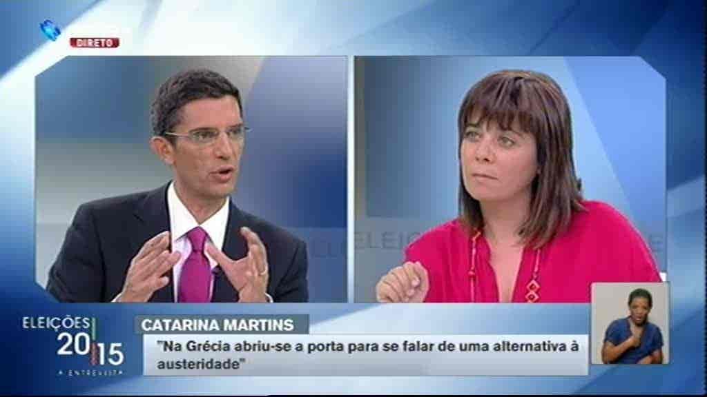 Catarina Martins...