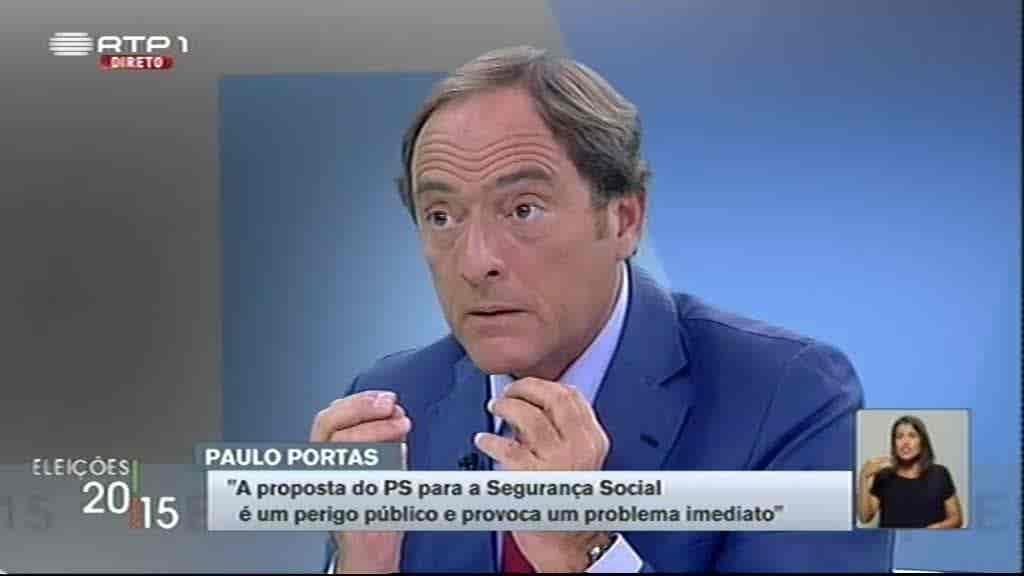 Paulo Portas...