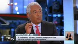 Frente a Frente: Passos Coelho/António C