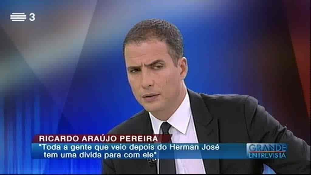 Ricardo Araújo Pereira...